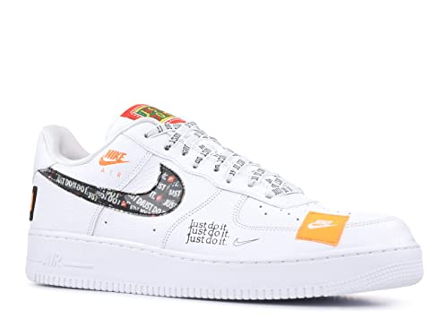Nike Men's Air Force 1 '07 Premium JDI White Leather Sneaker 45,5(EU) 11½(US) Multicolour