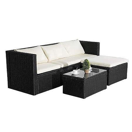 LIVE CARVER - Conjunto de muebles de jardín, sofá esquinero ...