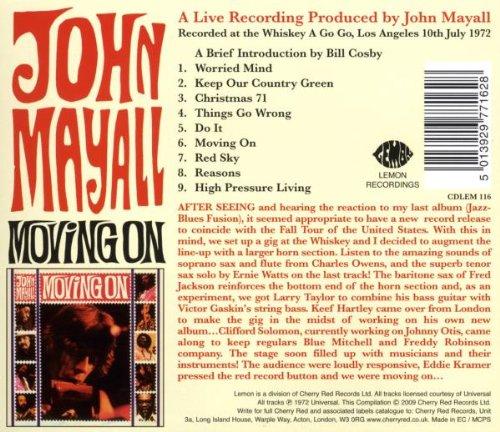 Moving On /  John Mayall