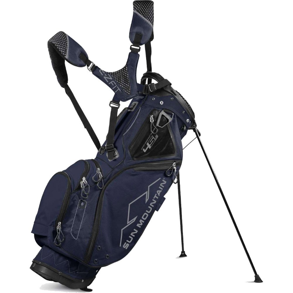 Sun Mountain 2017 4.5 LS 4-Way Stand Golf Bag, Navy