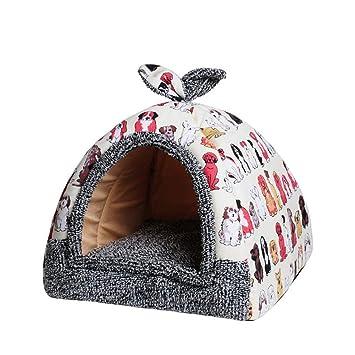 SPTHY Cama Cueva para Tienda De Mascotas para Gatos, Tienda ...