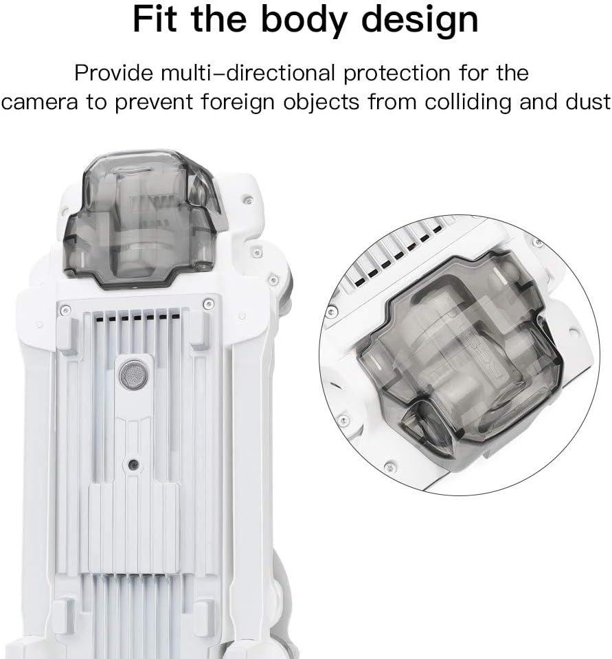 Fixed Lens Cover Sunshade Hood 2020 Gimbal Lock Cover Cap Accessories Compatible with Xiaomi FIMI X8 SE 2020 Drone Novania Camera Lens Guard Protector Sensor Screen Protective Shell Case Accessory