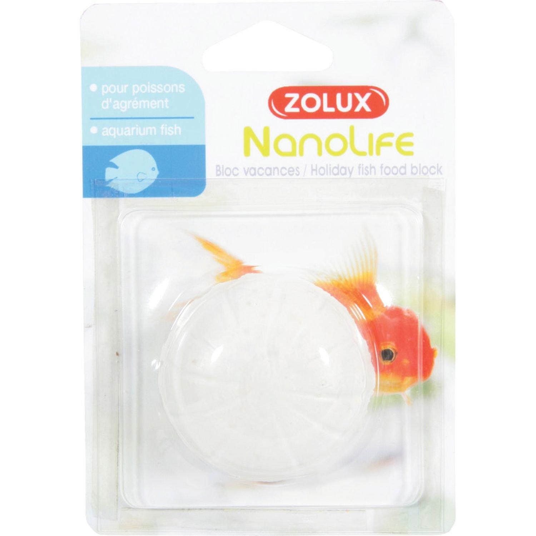 Bloc vacances Actizoo nourriture pour poissons Zolux
