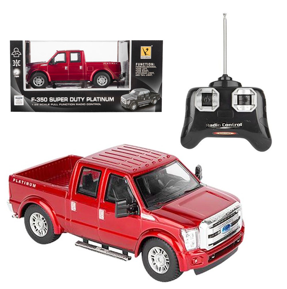 rc ford f 350 super duty pick up truck full function r c radio remote control 817210022452 ebay. Black Bedroom Furniture Sets. Home Design Ideas