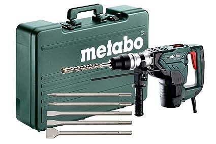 Metabo Martillo combinado Set, 1100 W, con 5 accesorios de cinceles