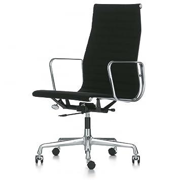 Vitra Ea 119 Aluminium Chair Burostuhl Stoff Nero Schwarz Hopsak 66