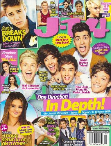 One Direction, Selena Gomez, Justin Bieber, Austin Mahone, 1D MEGA-POSTER - October/November, 2012 J-14 Magazine