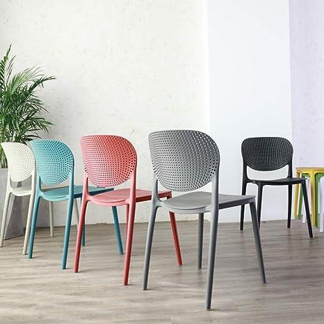 Sedia plastica sedia tempo libero ufficio corno sedia