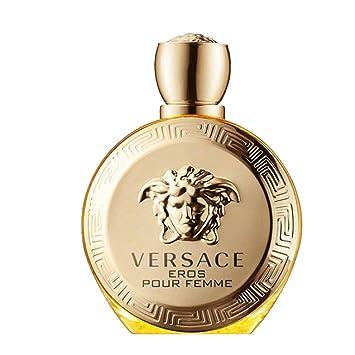 42c219903 Amazon.com : Versace Eros Pour Femme Eau de Parfum Spray, 3.4 Ounce : Beauty