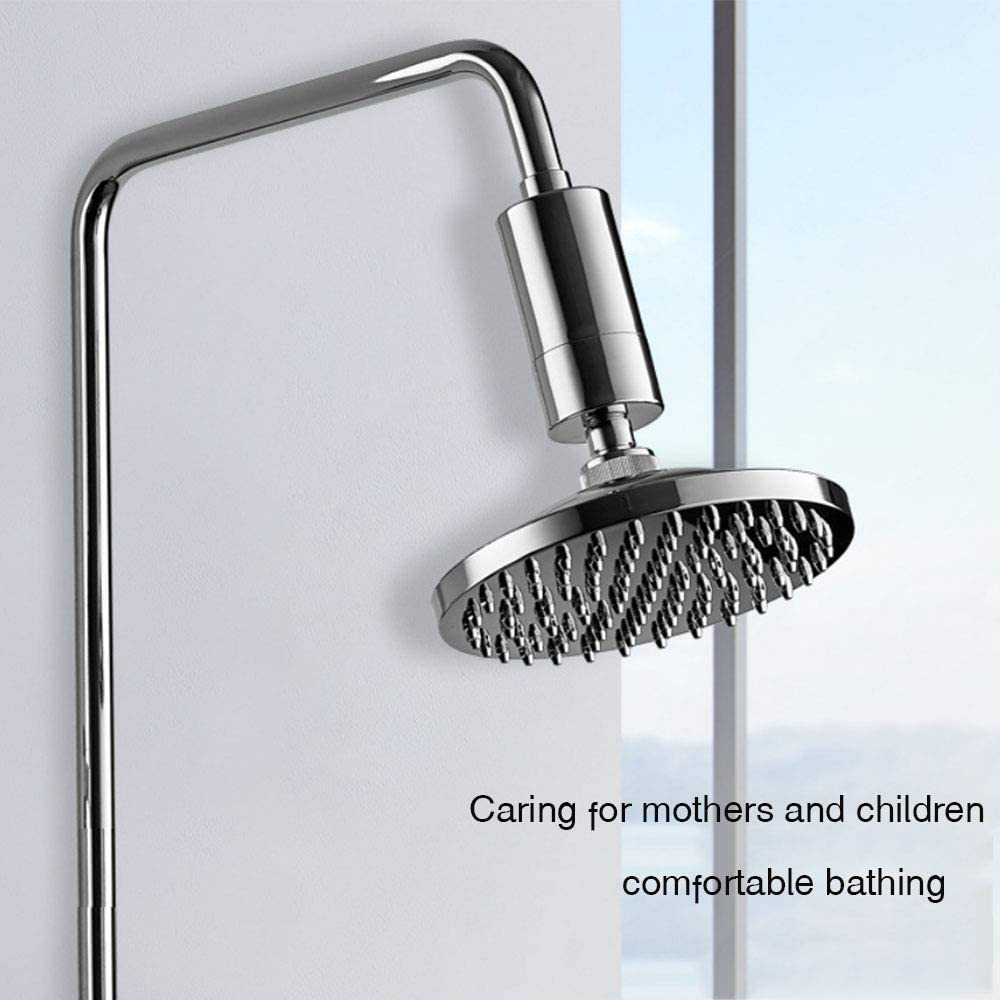 Universal Shower Filter Household Water Purifier Shower Filter Wrewing 1Pack Chlorine Filter Faucet Filter