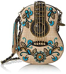 Beaded Guitar Clutch