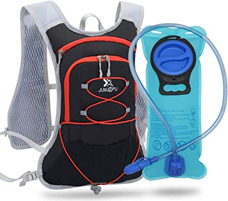 TEUEN Hydration Backpacks with 2L Bladder Running Water Backpack 6L  Lightweight Hydration Pack for Men Women Cycling Drink Backpack Rucksack  for Trail Marathon Running Hiking (black-red): Amazon.co.uk: Sports &  Outdoors