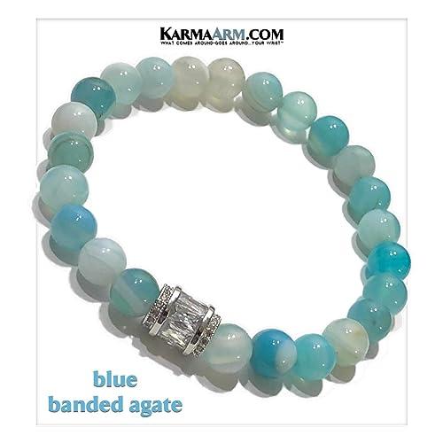 Amazon.com: Meditation Bracelet | Self-Care Wellness ...