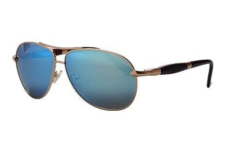 SHINU Flieger-Sonnenbrille aus Metall Polarisierte Linse Männer Art und Weise Poliert UV400 Schutz Sonnenbrille Sichere-1579 (black grey) 9mEEDLeyY8