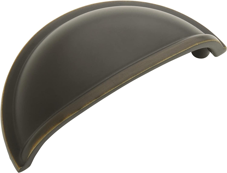 Amerock BP53010-RB Allison Value Hardware 3-Inch Center-to-Center Pull, Roman Bronze