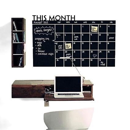 Piu - Pizarra para planificador mensual (60 x 90 cm, para ...