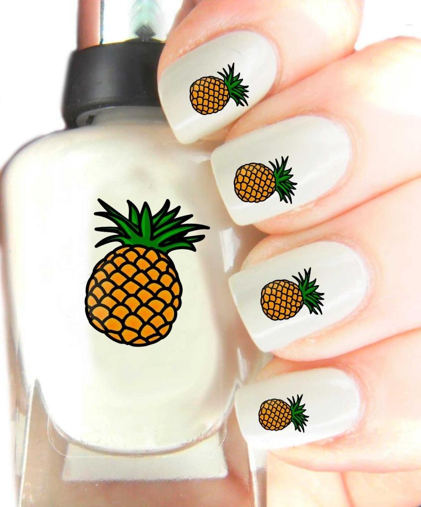 Easy to use, High Quality Nail Art Decal Stickers For Every Occasion! Ideal Christmas Present / Gift - Great Stocking Filler Pineapple SNAD