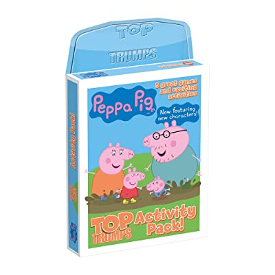 Activity Pack Peppa Pig Top Trumps Card Game: Toys & Games