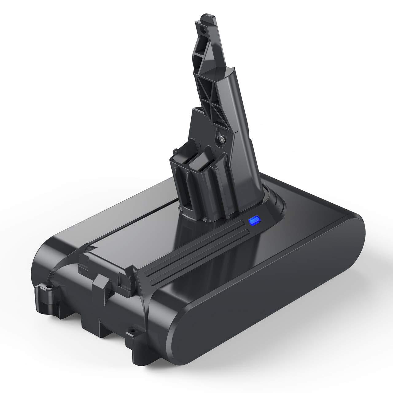 Powerextra 3500mAh Compatible with Dyson V7 Battery 21.6V Lithium ion for Dyson V7 Handheld Vacuum Cleaners Cordless V7 Animal for Dyson 21.6 Volt Battery V7 HEPA Motorhead Pro V7 Trigger V7 Car+Boat