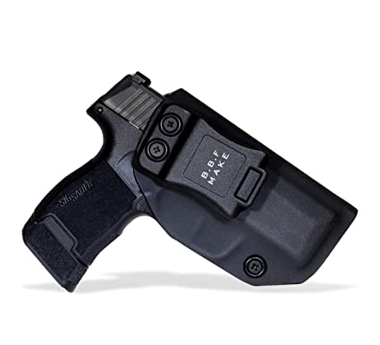 BBF Make IWB KYDEX Holster Fit: Sig Sauer P365 | Retired Navy Owned Company  | Inside Waistband | Adjustable Cant | US KYDEX Made