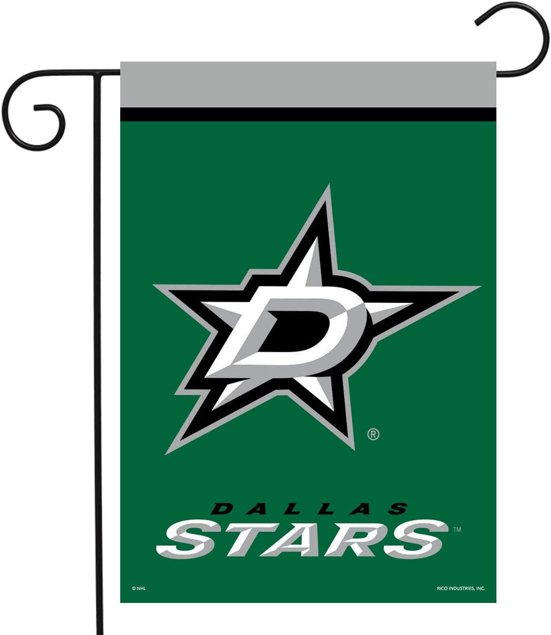 "Dallas Stars Garden Flag Hockey Licensed 12.5"" x 18"""