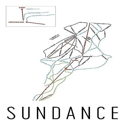 Amazon Com Sundance Poster Sundance Ski Resort Poster Sundance