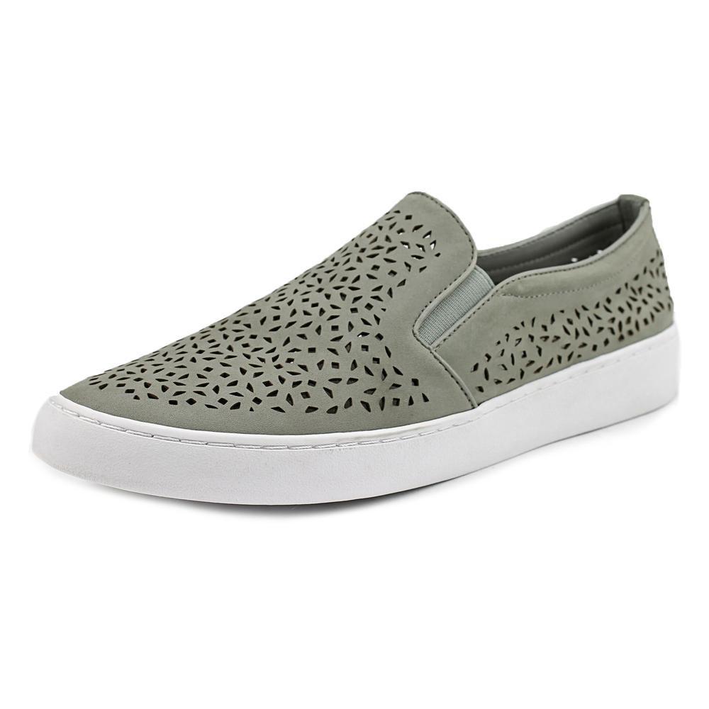Vionic Womens Midi Perf Slip-on Grey Sneaker - 10