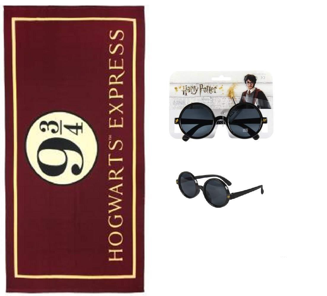Toalla de Harry Potter - Gafas de Sol Harry Potter: Amazon ...