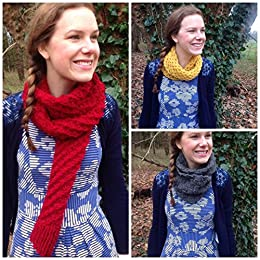 7 Chunky Scarf Knitting Patterns Easy Weekend Project Easy To