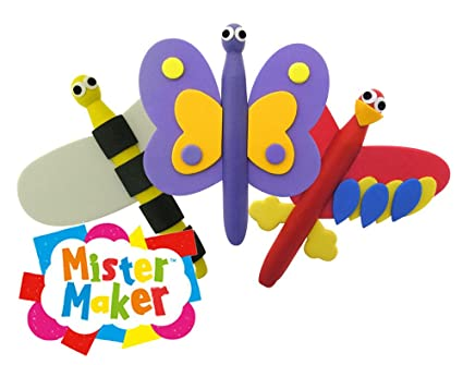 Amazon Com Mister Maker Mini Makes Things With Wings Dolly Peg Kids
