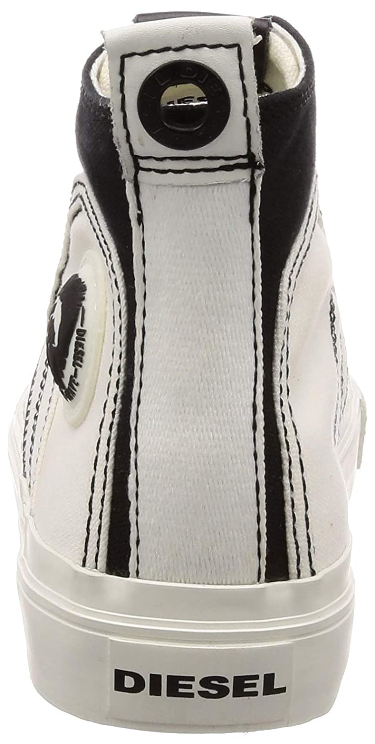 DIESEL S-ASTICO MID MID MID LACE Turnschuhe Herren Weiss Turnschuhe High 46e5aa