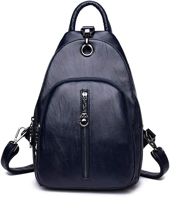 Guyuexuan Girls Multi-Purpose Backpack for Daily Travel//Outdoor//Travel//School//Work//Fashion//Leisure Stylish and Generous Five Colors PU Leather Latest Models