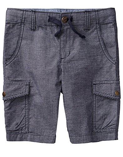 - Gymboree Boys' Little Cargo Shorts, Slate Denim, 6
