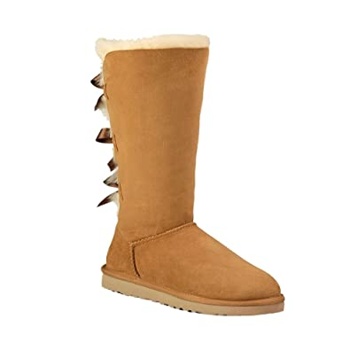 UGG New Australia Bailey Bow Tall Chestnut 1 Kids Boots
