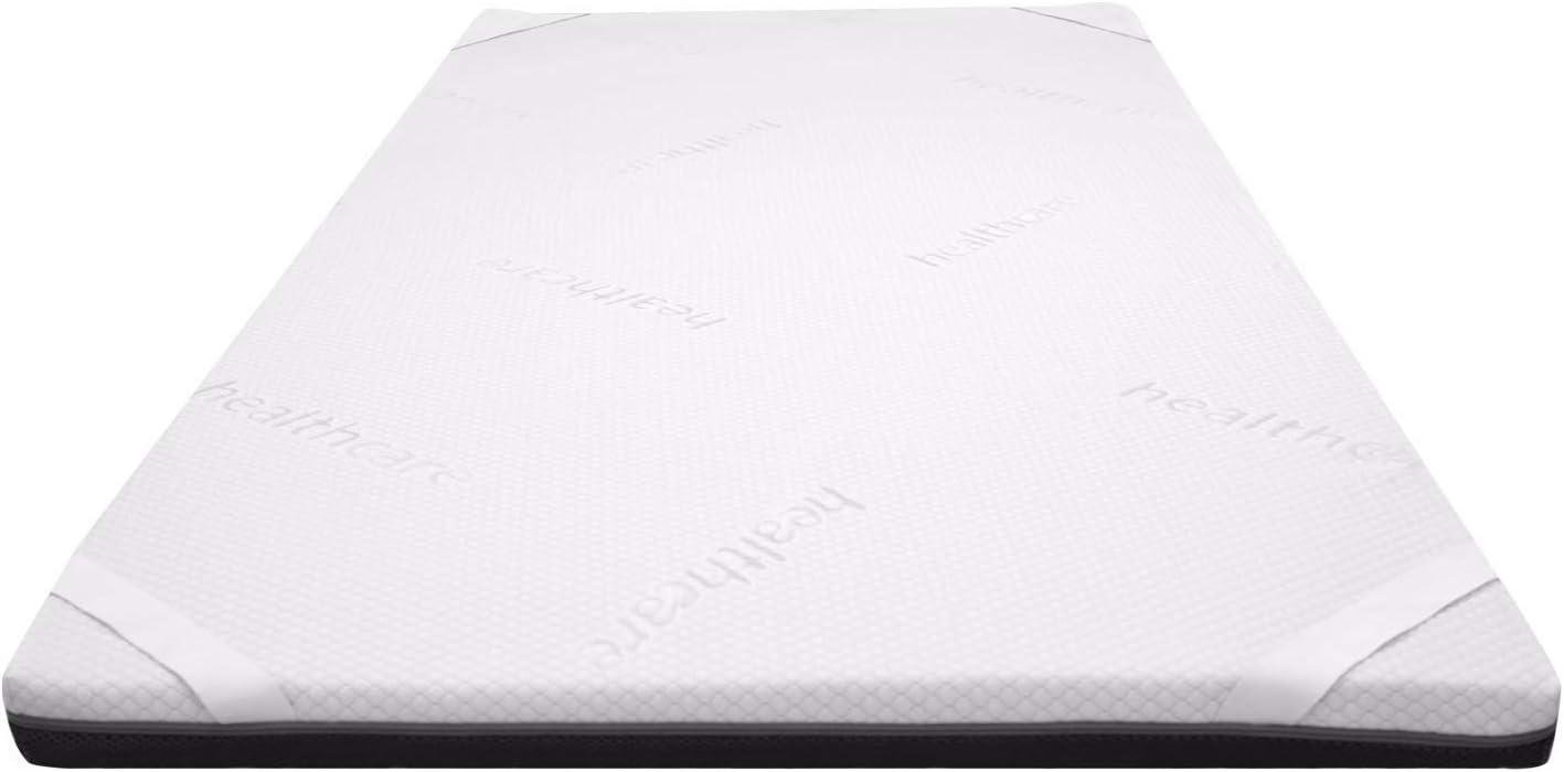 Duermete Topper Viscoelástico Ergofresh Premium con 5cm de Viscogel con Efecto Antiestrés, 90x190