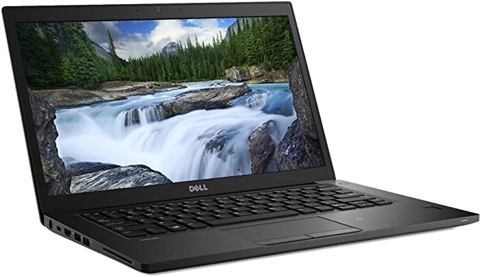 2018 Dell Latitude 7390 13.3 inch FHD Laptop PC (Intel Quad Core i7-8650U, 16GB Ram, 512GB SSD, Camera, WiFi, Thunderbolt 3) Win 10 Pro (Renewed)