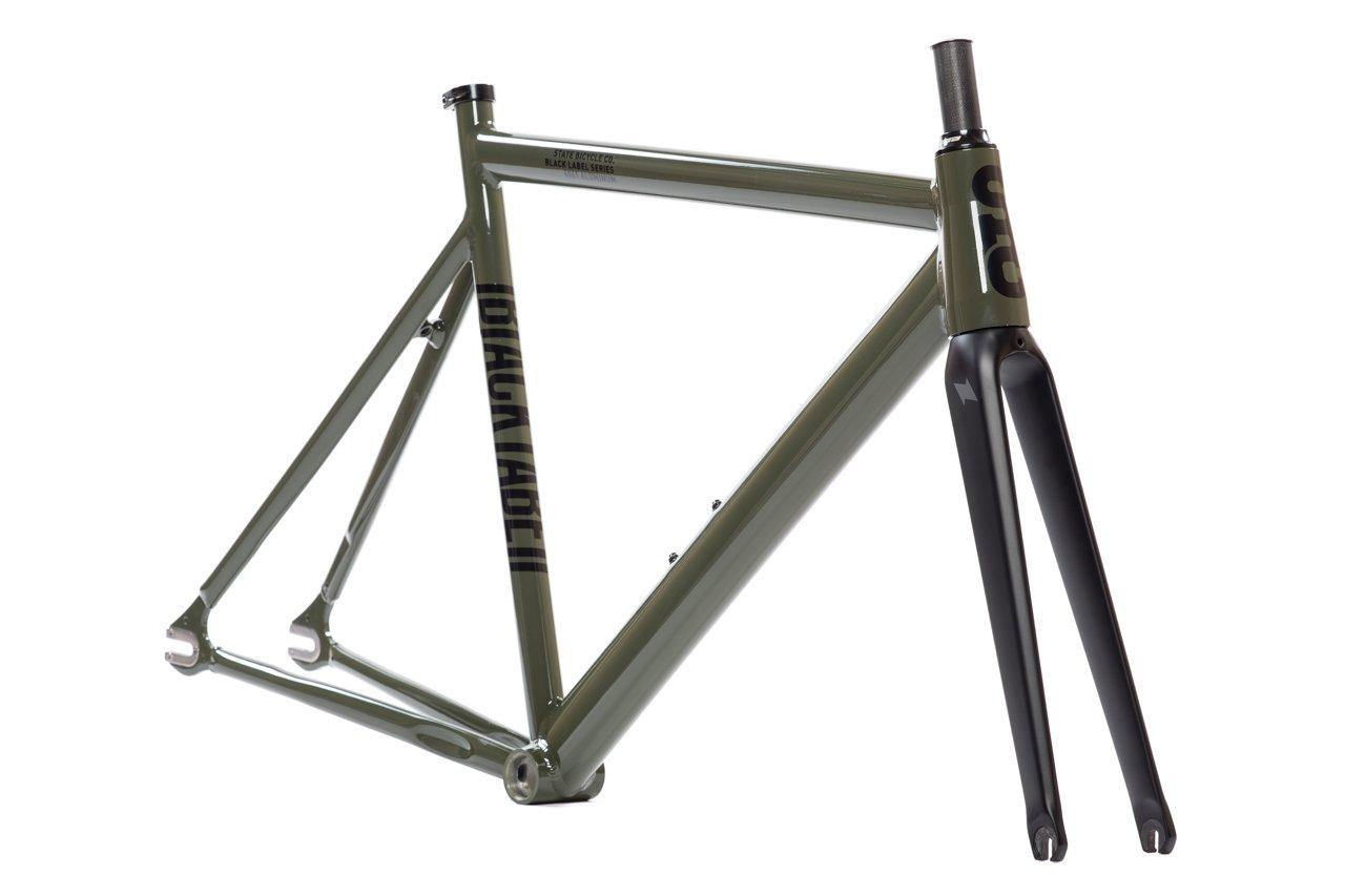 Carbon Bike Frame >> Amazon Com State Bicycle Co Black Label 6061 V2 Aluminum Frame
