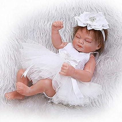 Mini Real Vida Lindo Bebé Recién Nacido Muñeca, Sleepping Chica ...