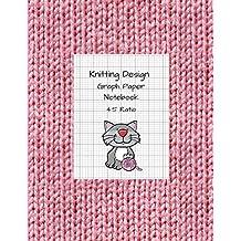Knitting Design: Graph Paper Notebook, Blank Knitting Patterns Book, 4:5 Ratio