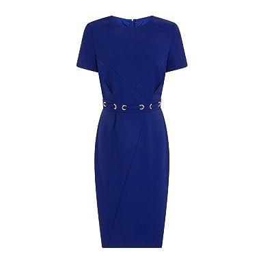 9f0029743ca Paper Dolls Womens Ladies Bayview Eyelet Waist Pencil Dress  Amazon.co.uk   Clothing