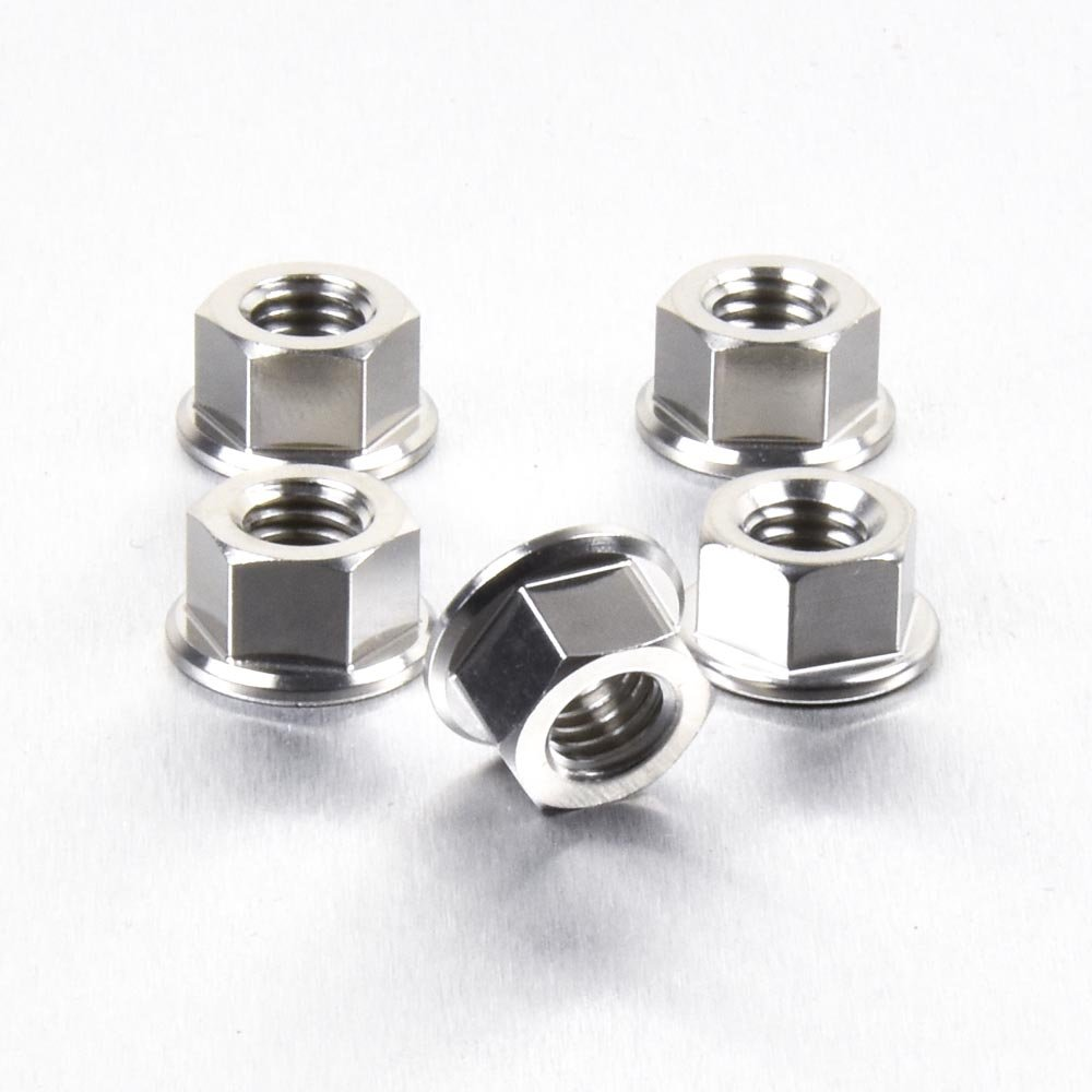 Stainless Steel Sprocket Nut M8 x (1.25mm) Pack x 5