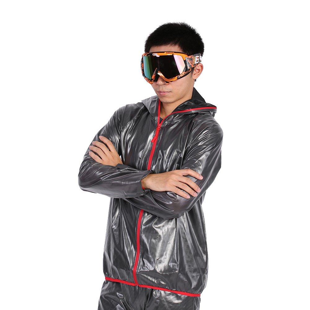 Orange frame + colorful lens Qiilu Motorcycle Motocross Off Road Dirt Bike Racing Goggles Glasses Eyes Protection
