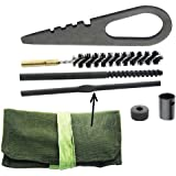 GOTICAL Mosin Nagant 91/30 Cleaning Kit Heavy Duty Vintage Soviet Original Cleaning Rod, Kit with Pouch