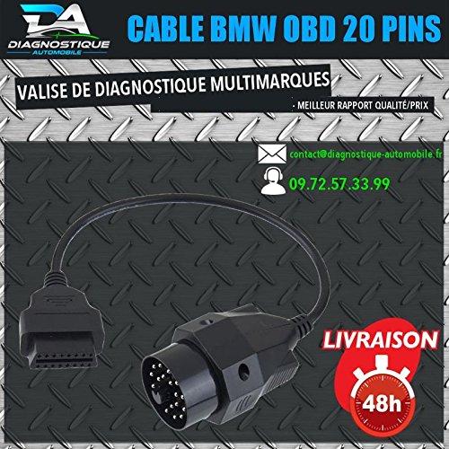 Mister 20 Pin To Obd2 Adaptor Bmw E30 E34 E6 E45 E39 Inpa K Dcan