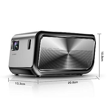 Sin marca Lumen proyector Full HD 4K r Soporte de vídeo portátil ...