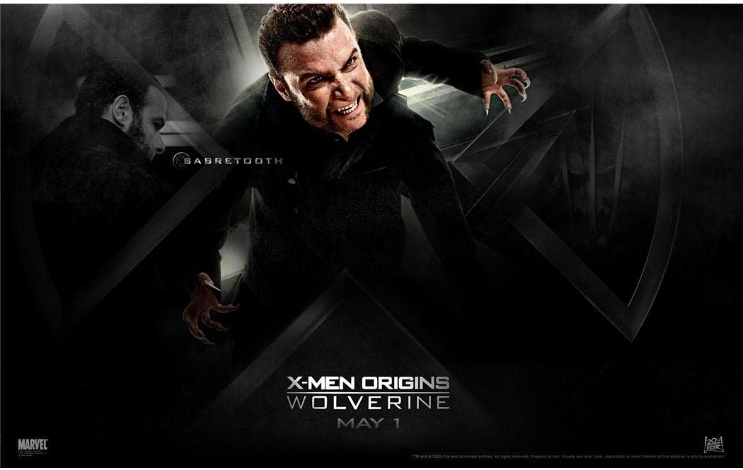 High Quality Prints Wolverine Movie Poster Xmen Origins