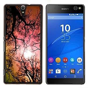 - hallucinogen lsd trees forest sun pink - - Modelo de la piel protectora de la cubierta del caso FOR Sony Xperia C5 Ultra RetroCandy