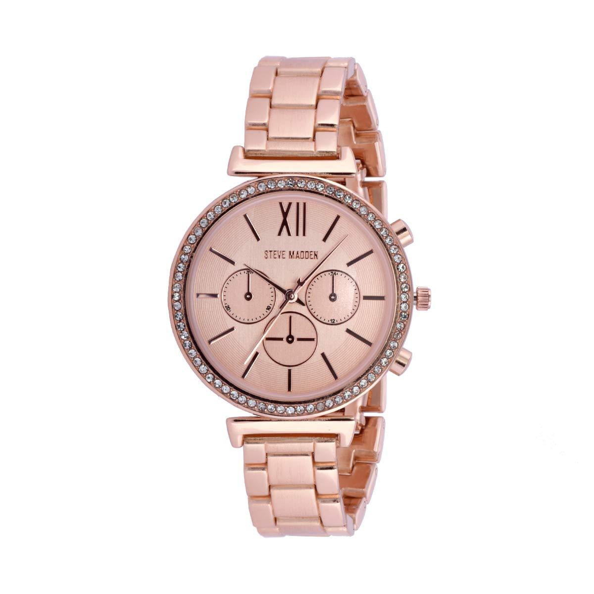 4912c18eb83 Buy Steve Madden Analog Rose Gold Dial Women's Watch-SMW063Q Online ...