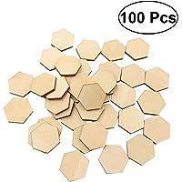 SALIFTY 100 piezas 22,5 mm madera de haya