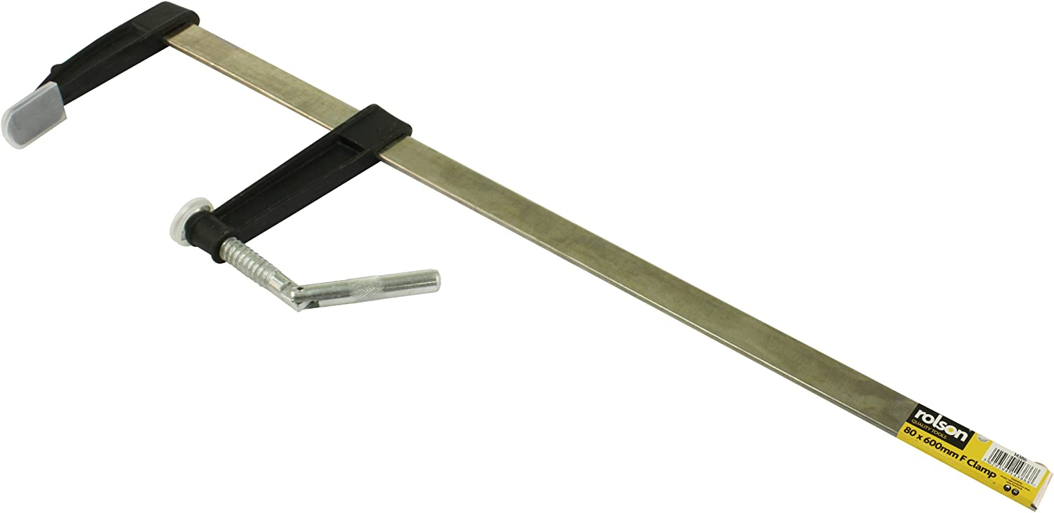 Silverline Woodwork Euro F Clamp 300 X 120mm With Pen